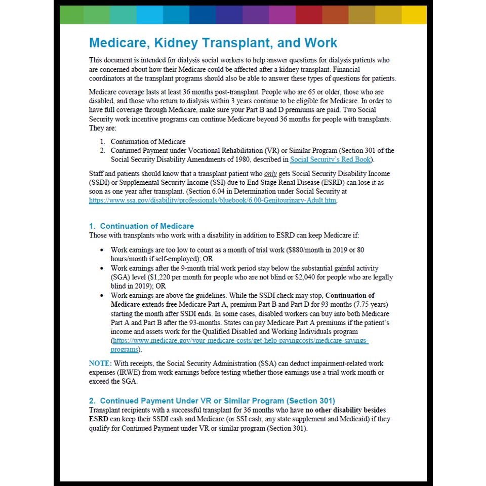 medicare and transplant