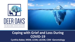 Coping and Recovery from Grief and Loss