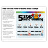 5 Step Handwashing Poster Build Activity
