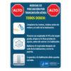 Airborne Precautions Sign (Spanish)