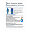 Infection Prevention for Residents