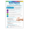 Hand Hygiene Tips for Patients Poster