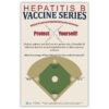 Hepatitis B Vaccine Series Poster for Staff