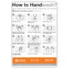 WHO Handwashing Poster