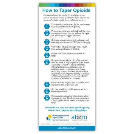 How to Taper Opioids