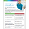 Huddle Up: Professionalism From the Patient Perspective