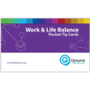 Work and Life Balance Pocket Tip Cards